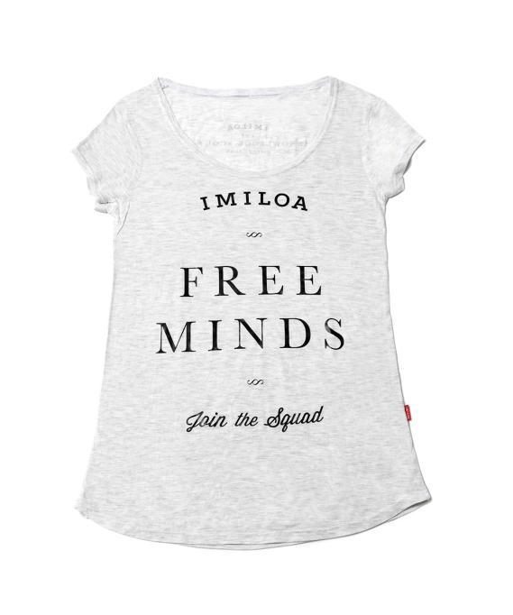 Imiloa Camiseta Free Minds