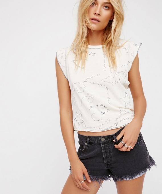 Free People Soft & Relaxed Cut Off