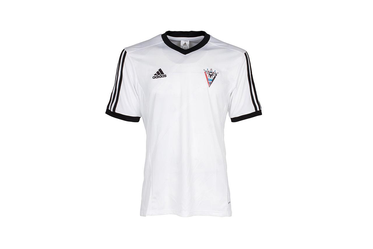 camisetas mujer adidas blanca