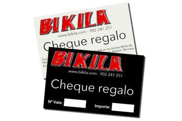 Bikila Cheque Regalo 100 Euros