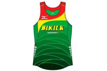 Mizuno Bikila Team Running Premium Singlet