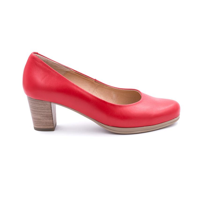 010d996451e Home  Zapato de salón para mujer  rojo Desiree. Producto