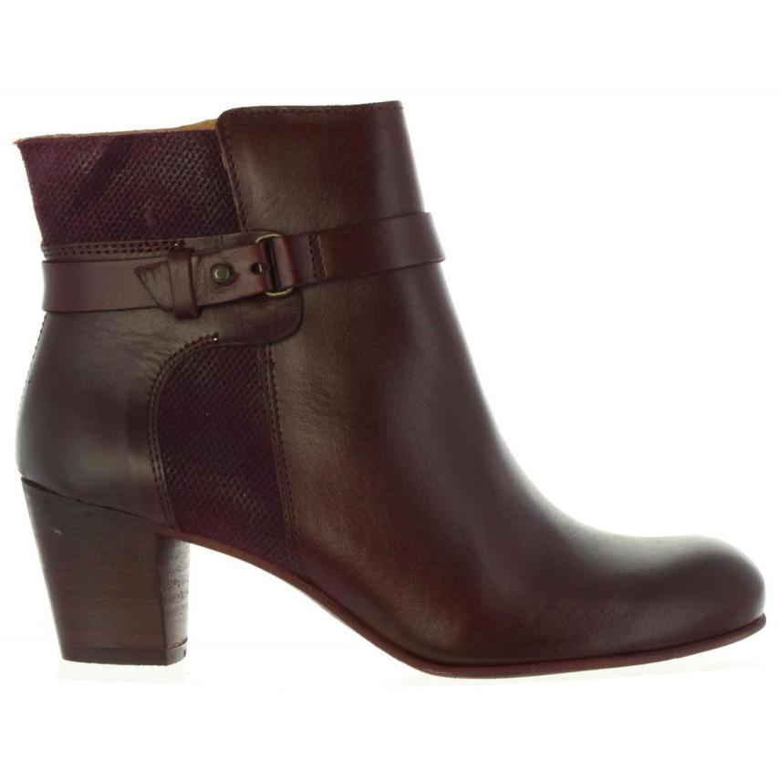 Chaussure pour femmes à la mode Kickers-- Seebottes  Bordeaux