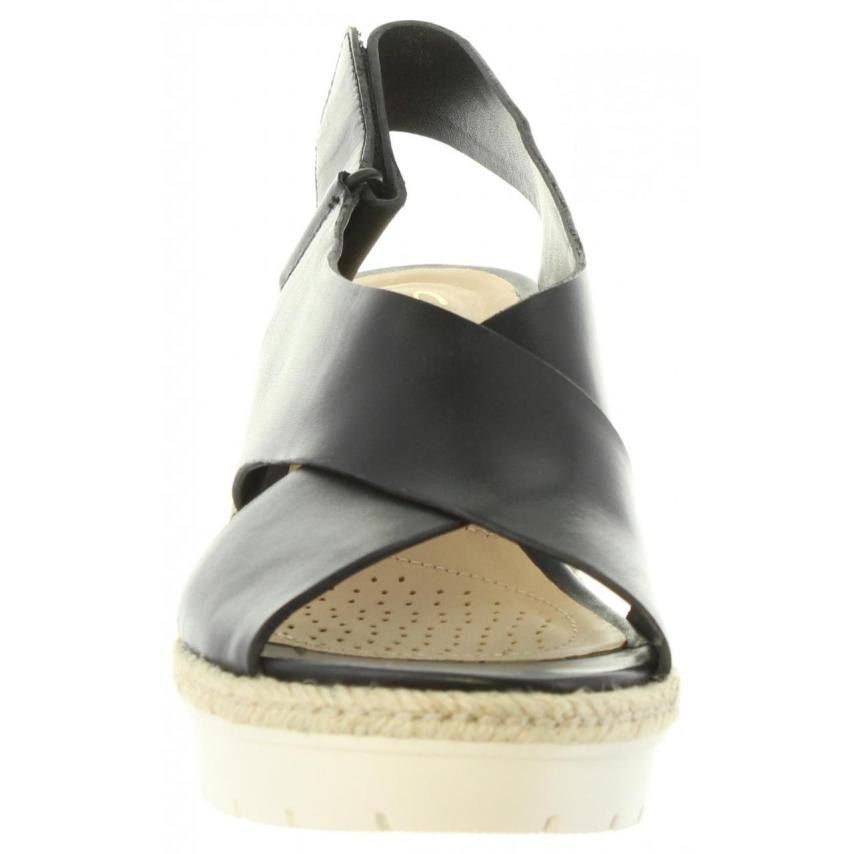 Palm DE 26132131 A SANDALIA Black CU Leather CLARKS q745wxU