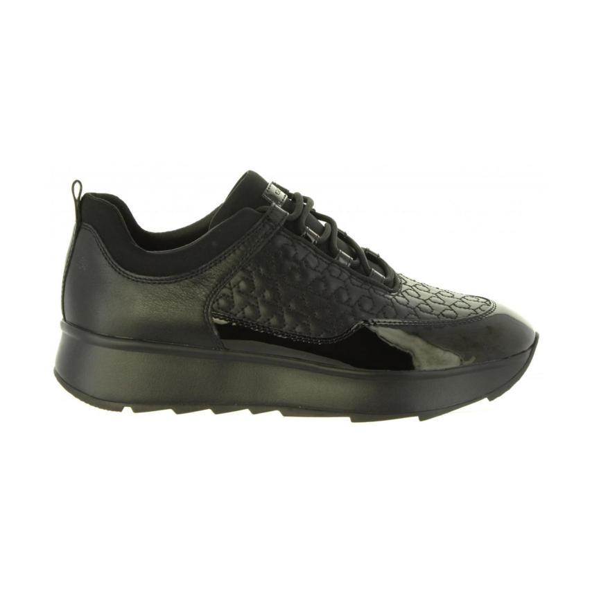 Chaussures plates pour femmes Geox-dtc  D Gendry C noir