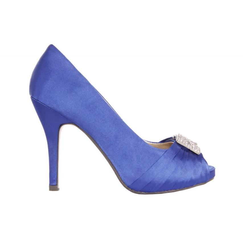 GLAMOUR / B038013-b7345 Blue ZAPATO DE VESTIR