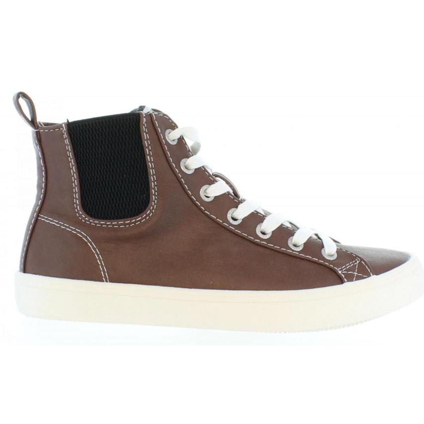 Chaussures hautes pour femmes Pepe Jeans-pls Clinton  Nut marron