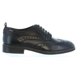 a8fda6a515a Chaussures à lacets pour hommes Pepe Jeans Pms10173 Hackney 999 Black  Verano 2019