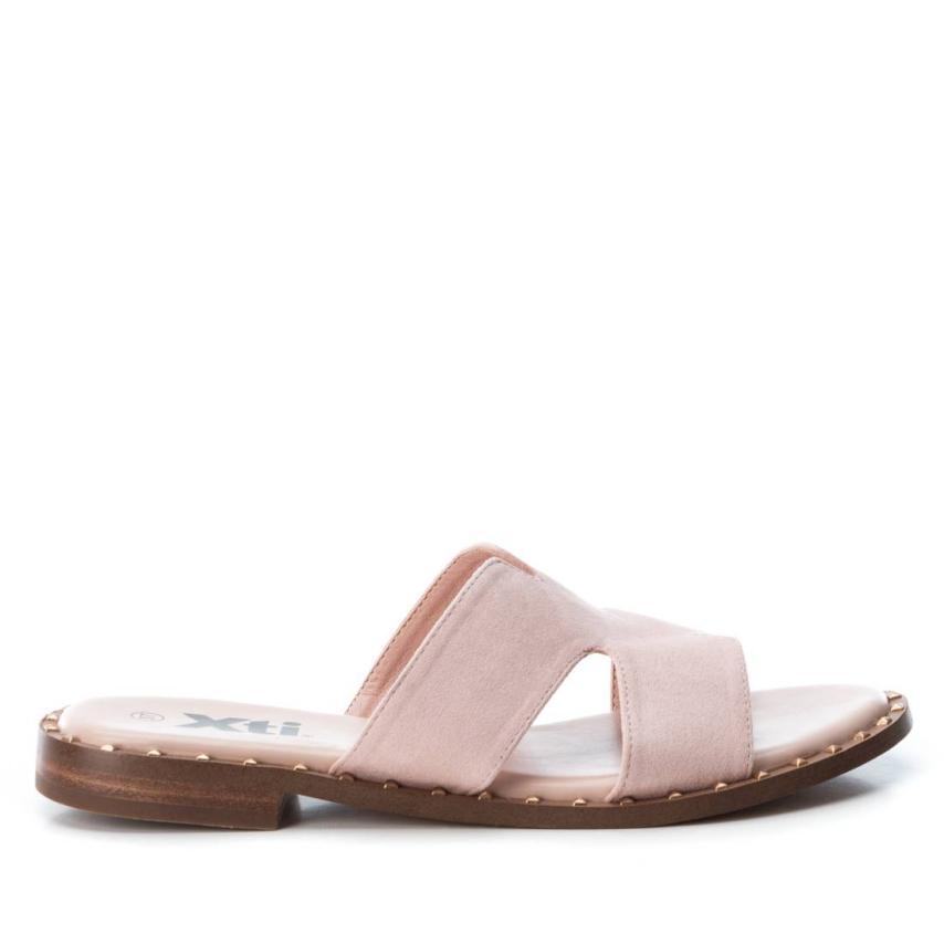 Sandalia plana de femmes Xti-