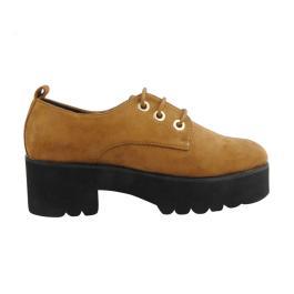 Zapato con cordones para mujer Suncolor 56630 Verano 2019 f6dc4d47dc84d