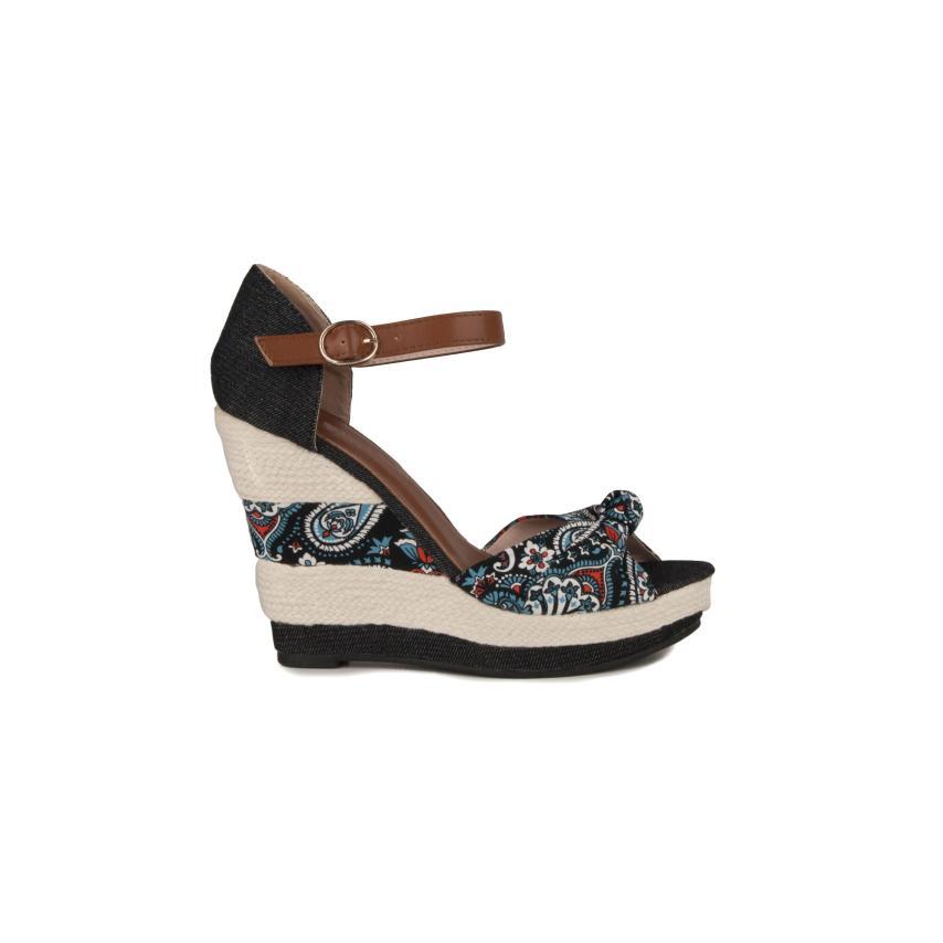 Sandales compensées pour femmes Qh-a QH
