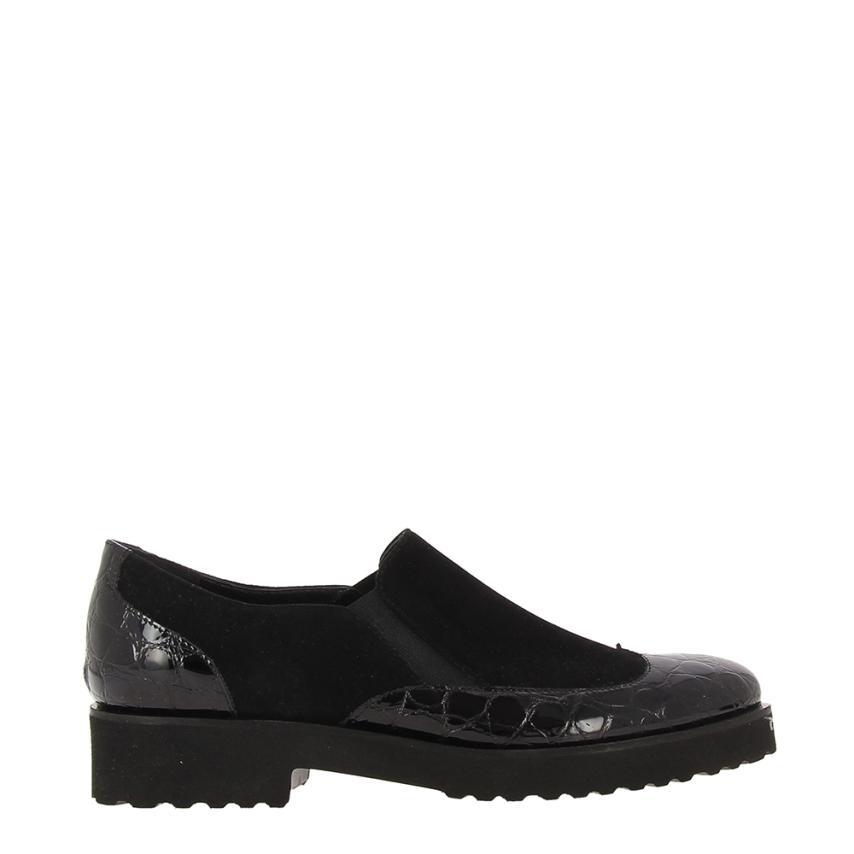 Il più grande centro commerciale e calzature modaCocro Drago+camoscio nero Fratelli Milloreti | Qualità primaria  | Uomo/Donne Scarpa