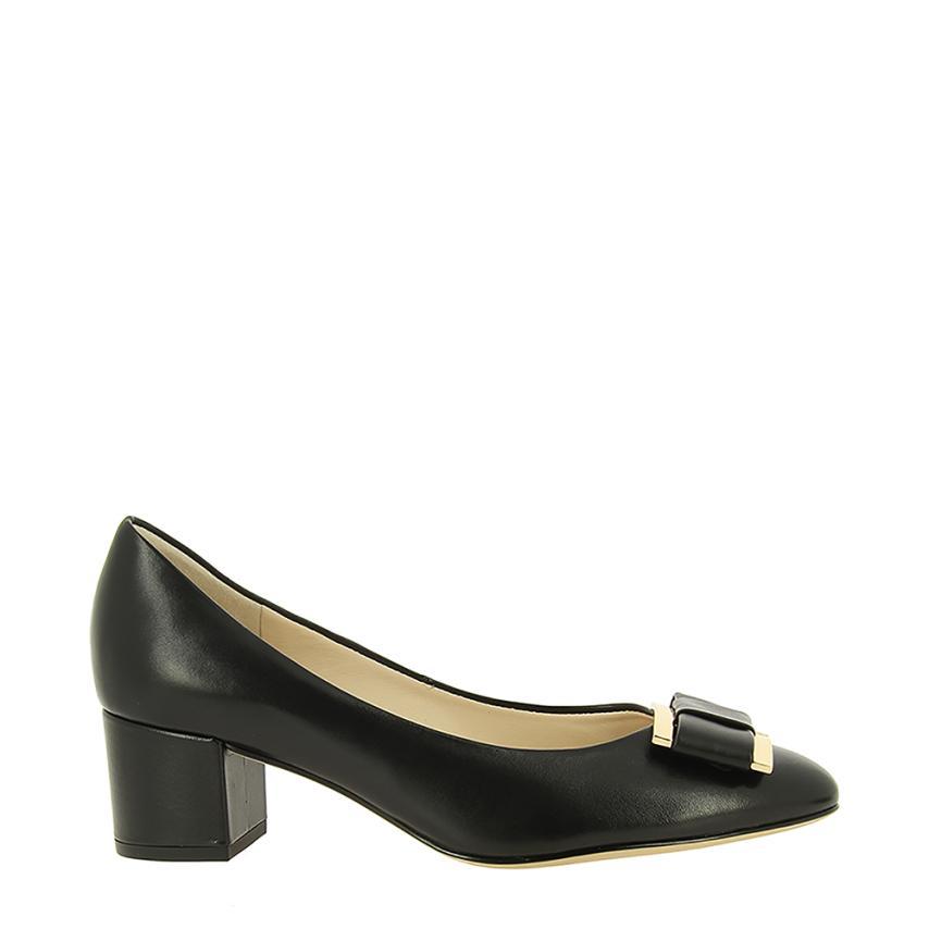 Zapato de salón para femmes Baby Sheet noir Hogl