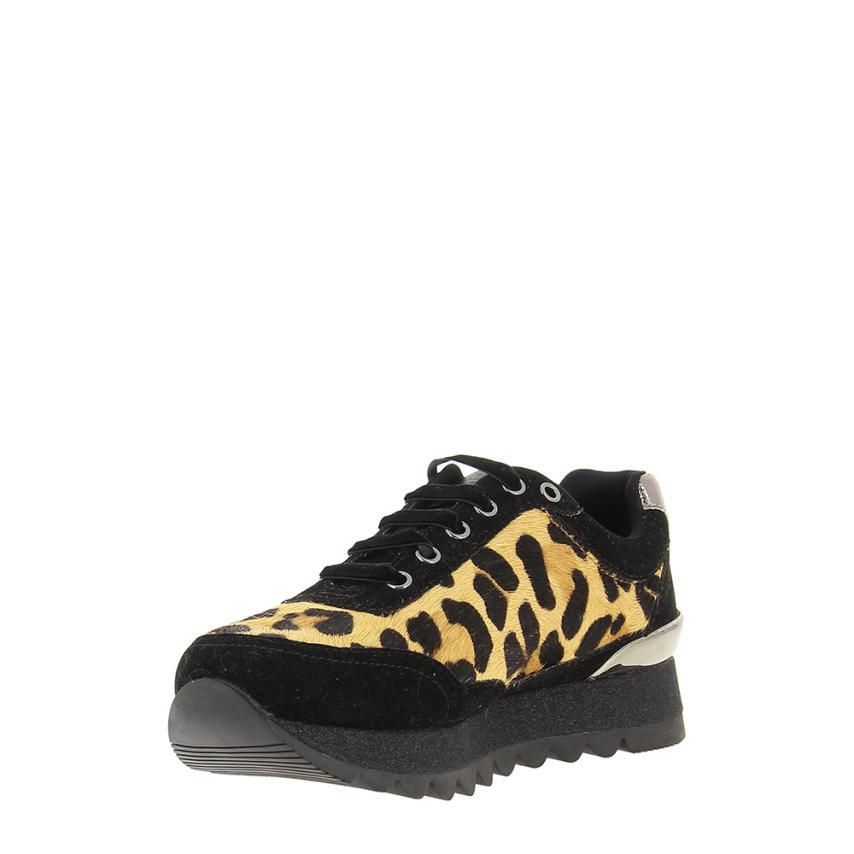 con plataforma Suede+textil Estampado#leopardo Gioseppo 7783cd