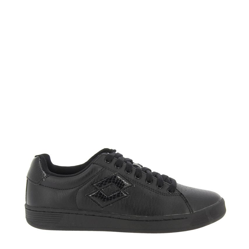 Chaussures plates pour femmes Sintetico noir Lotto