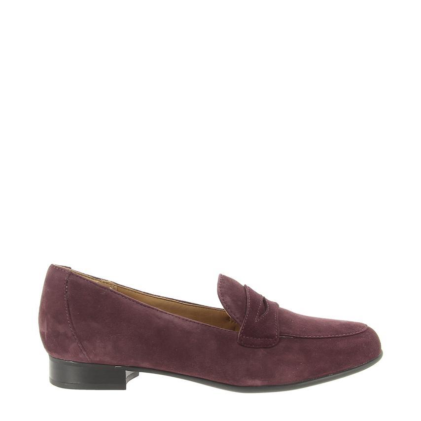 Il più grande centro commerciale e calzature modaSuede aubergine Clarks   Buy Speciale    Scolaro/Ragazze Scarpa
