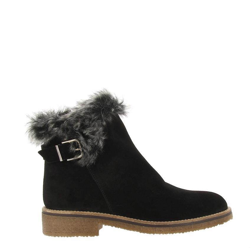 Chaussures pour femme Afelpado+foquina noir Plumers
