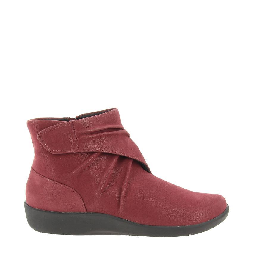 Il più grande centro commerciale e e e calzature modaSynthetic Nobuck  burgundy Clarks | In Uso Durevole  | Scolaro/Signora Scarpa  e5cea4