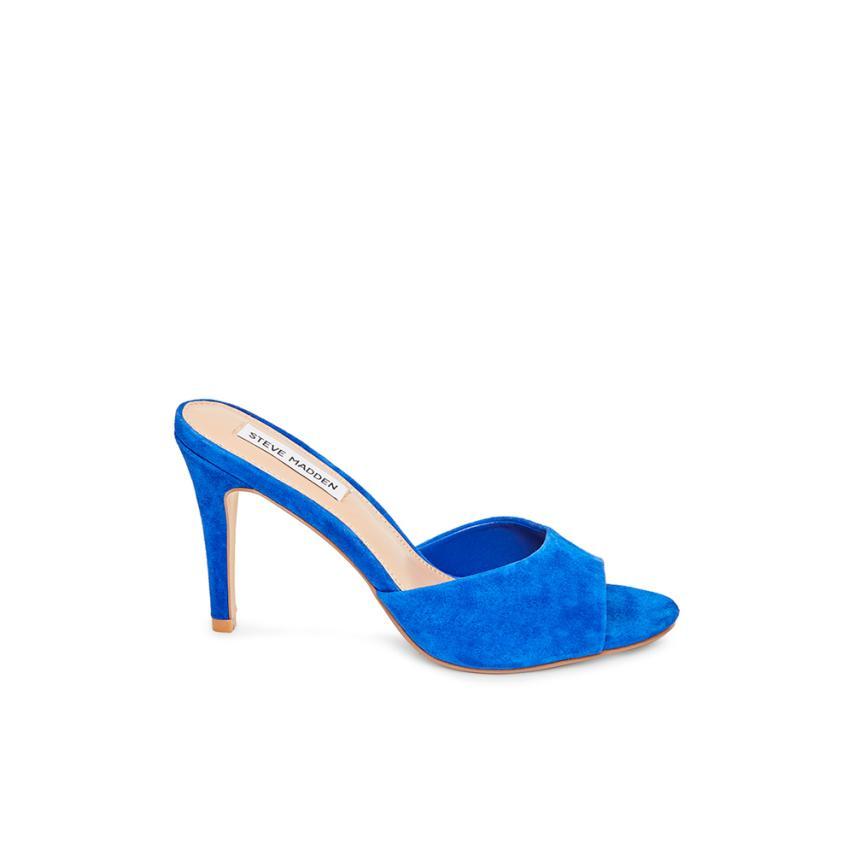 Sandales à la mode pour femmes  bleu Steve madden