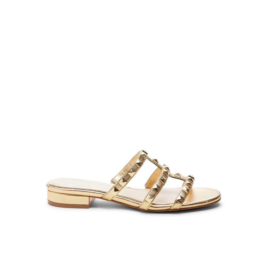 Sandalia plana de femmes  supreme or Jessica simpson