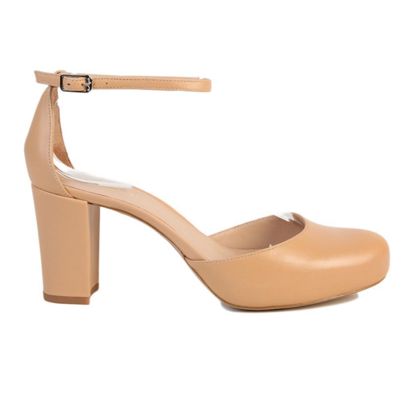 Chaussures pour femme Napa Silk suntan Unisa
