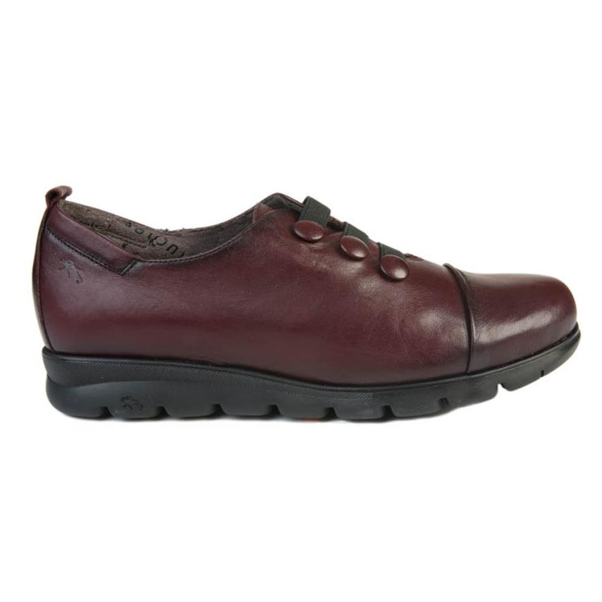 Zapato confort de femmes Sugar burdeos Fluchos