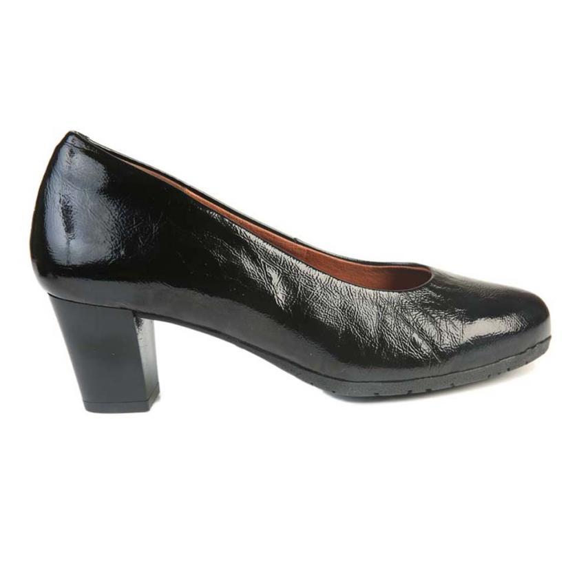 Zapato de salón para femmes Perlato noir Strover