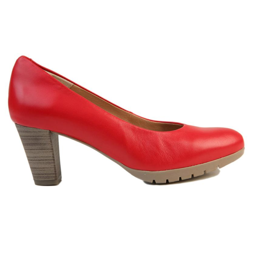 Zapato de salón para femmes Satin rouge Strover