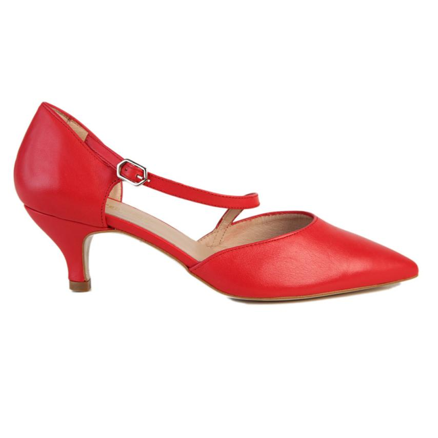 chaussures pour femme Seta Horma rouge Strover