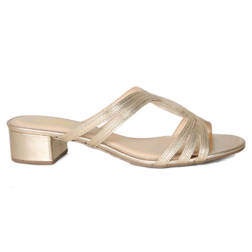 Sandales à la mode pour femmes Grafiato Eco ouro Strover