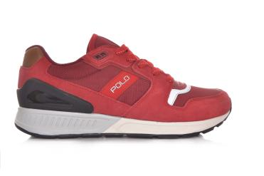 Zapatillas de moda Brixxon para hombre, Rojo, 13 M US