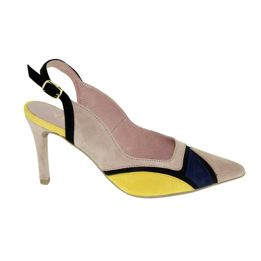 Chaussures pour femme Tosse beig Vexed
