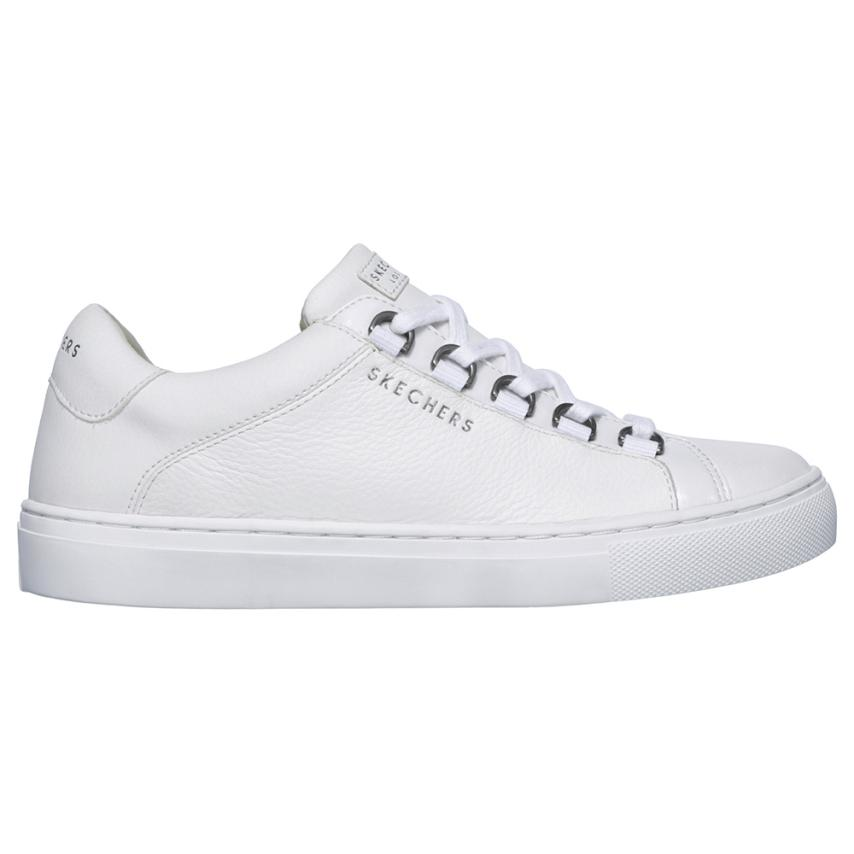 Chaussures plates pour femmes Wht blanc Skechers