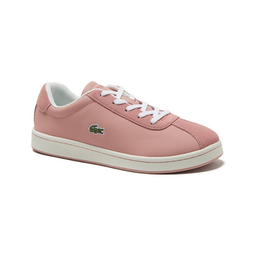 Chaussures plates pour femmes  rose Pw Lacoste