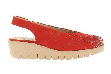 74fe2e85650 Zapato de cuña para mujer Wonders C33151 Verano 2019