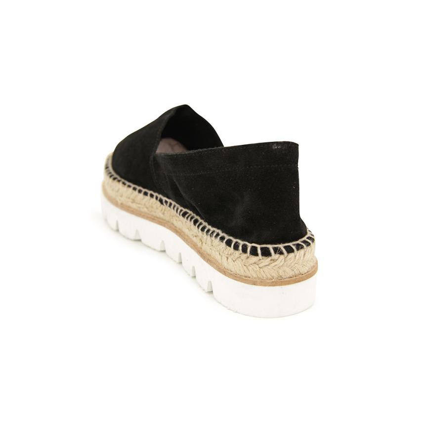QOUJEILY - Zapatillas de Otra Piel para hombre, color negro, talla 45 1/3 EU