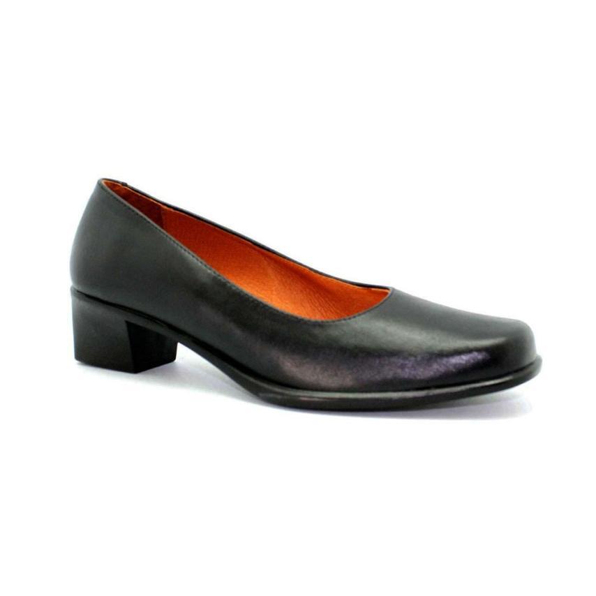 85c576dcaa5ed Zapato para mujer  negro Fleximax
