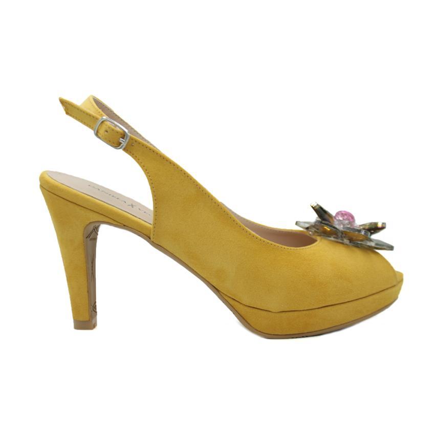 Sandales à la mode pour femmes  mostaza() Daniela